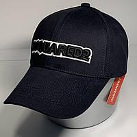 Мужская стильная кепка бейсболка с регулятором, синий VK 1022