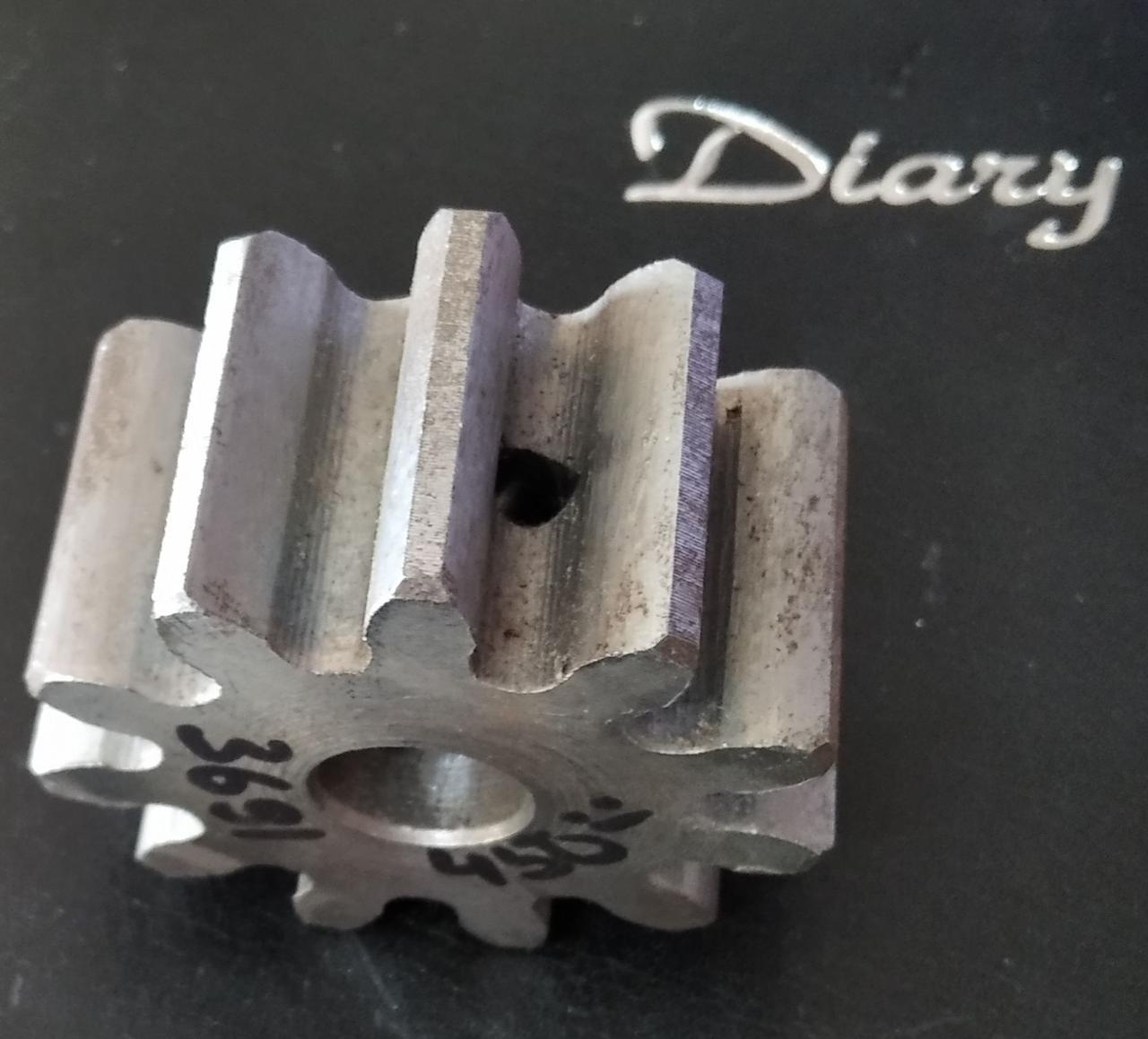 Шестеренка на 11 зубов на бетономешалку
