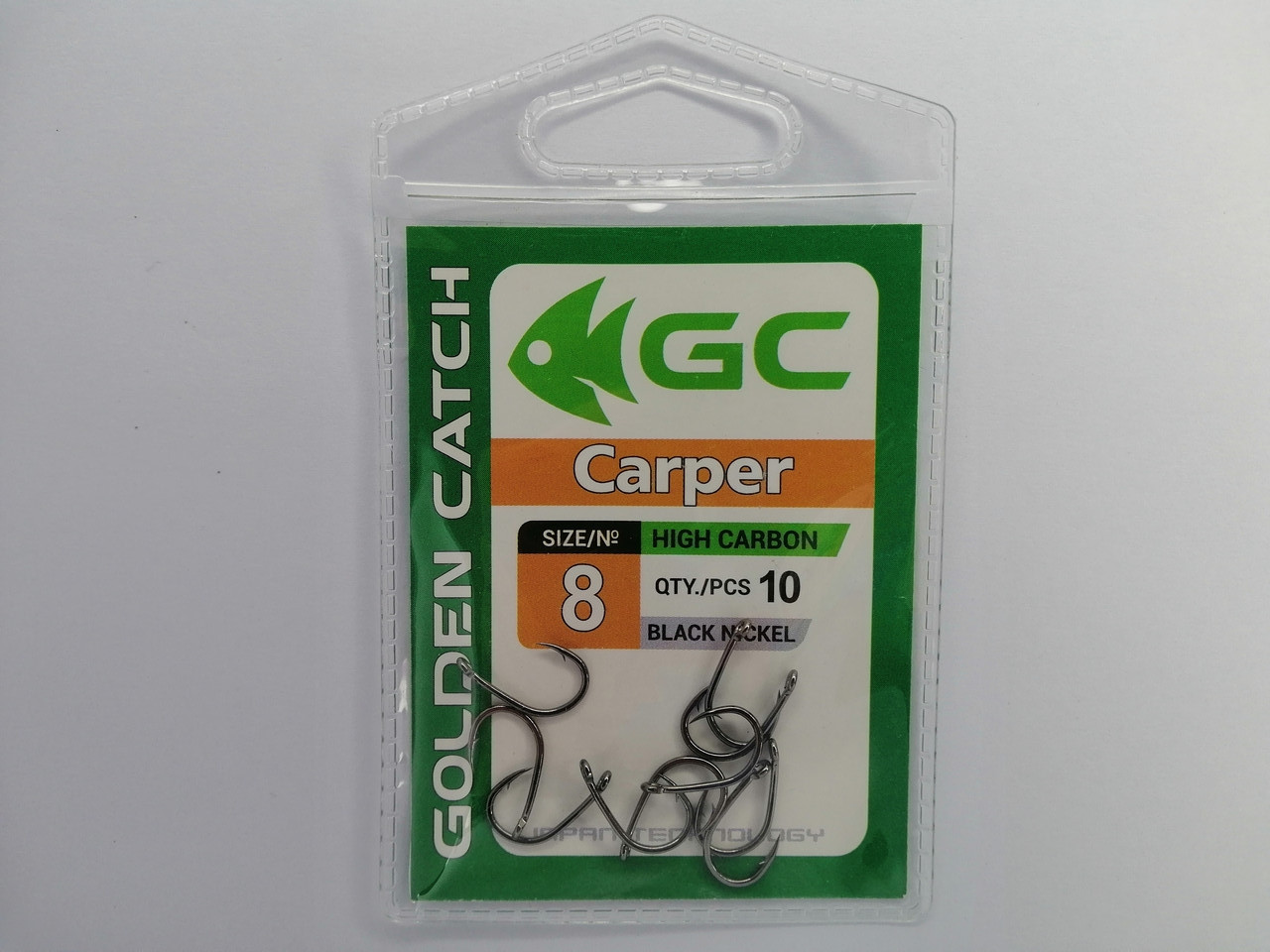 Крючек Golden Catch Carper №8