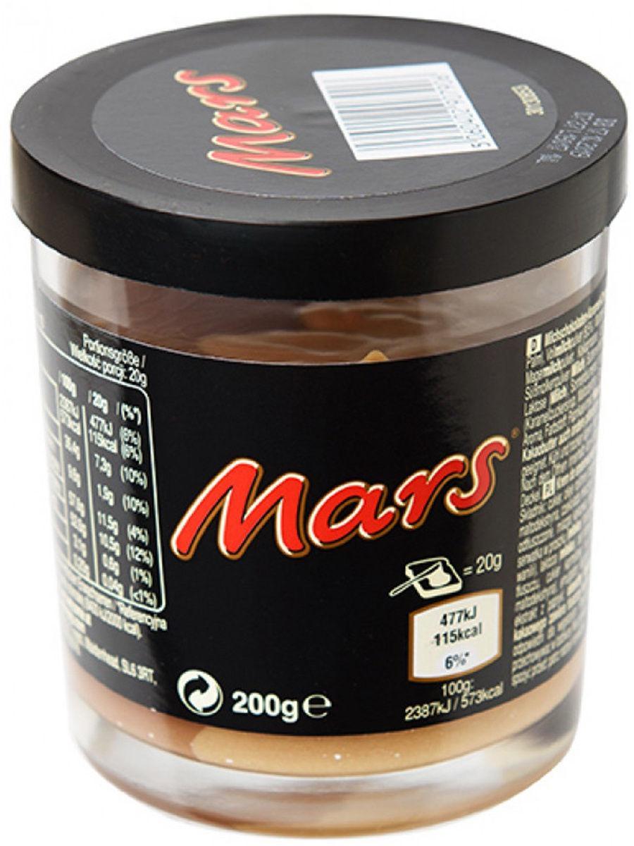 Шоколадно-карамельный крем Mars, 200г (Великобритания)