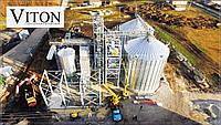 Строительство быстровозводимых БМЗ зданий зерноэлеваторов от 8000 тон - от 1000 м2.