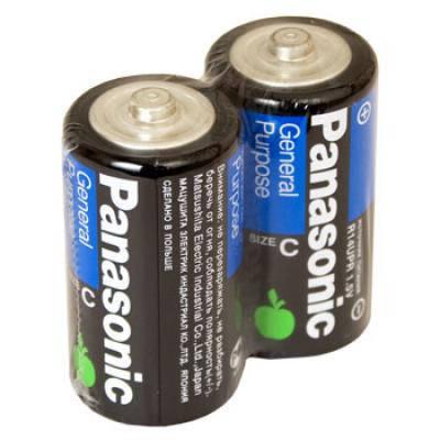 Батарейки PANASONIC R14, С, фото 2