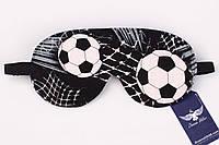 Двусторонняя маска для сна, для футболиста, фото 1