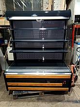 Холодильна гірка 1.30 м. б, холодильний регал б/у, холодильна гірка б у