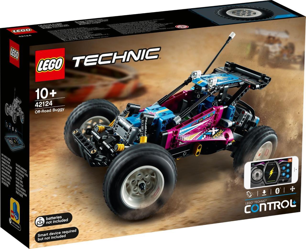 Lego Technic Багги-внедорожник Лего техник 42124