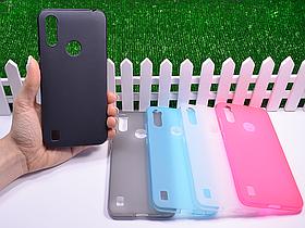 Силиконовый бампер для Motorola Moto E6s 2020