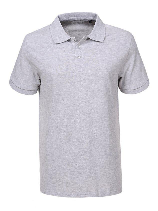 Чоловіча футболка поло GLO-Story,Угорщина(Великі розміри)
