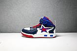 Ботинки кроссовки высокие детские Meekone 32-36 р, фото 6