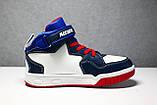 Ботинки кроссовки высокие детские Meekone 32-36 р, фото 8