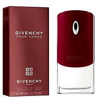 Парфюм Givenchy Pour Homme 100 ml Мужская туалетная вода (Мужские духи Живанши Пур Хом 100 мл) Красные