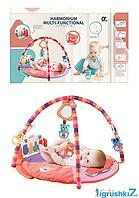 Коврик музыкальный для детей  668-49 погремушки, USB кабель, в коробке