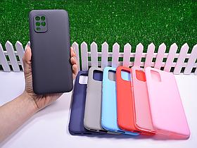 Силиконовый бампер для Xiaomi Mi 10 Lite