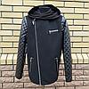Модна куртка дитяча для хлопчика розмір 128-146, фото 6