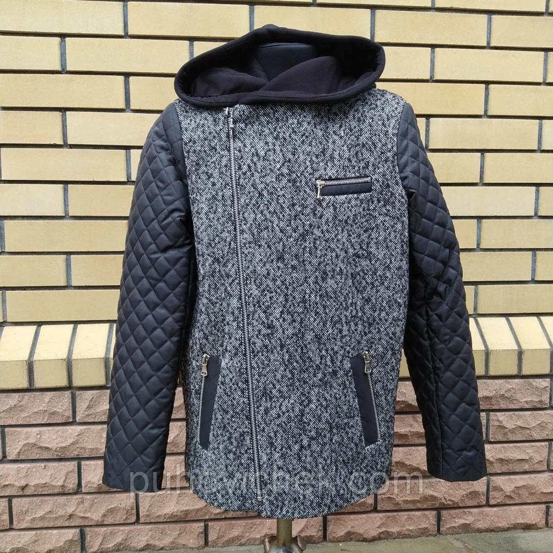 Модна куртка дитяча для хлопчика розмір 128-146
