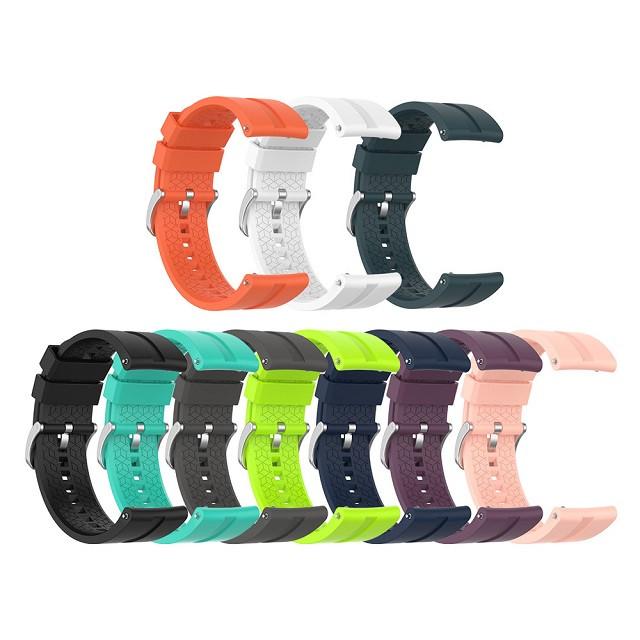 Ремешок для часов силиконовый на Samsung Galaxy Watch 46mm 22 мм