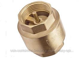 Зворотний клапан 1 1/4 WaterPro (латунний шток)