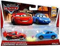 Набор из двух машин Маквин и Салли оригинал из США. Lightning McQueen with Sally Маквин