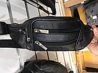 Чоловіча сумка через плече від фірми Polo шкіряний клапан опт роздріб