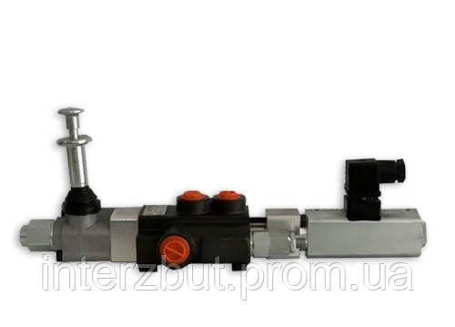 Гідророзподільник електромагнітний з механічним дублюванням Badestnost Z50 A 1ESD K1 G 12 VDC Болгарія