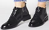 Ботинки женские на квадратном каблуке деми от производителя модель РИ05, фото 4
