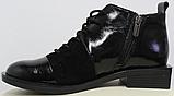 Ботинки женские на квадратном каблуке деми от производителя модель РИ05, фото 3