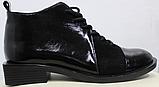 Ботинки женские на квадратном каблуке деми от производителя модель РИ05, фото 2