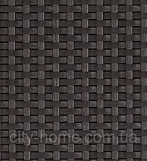 Шезлонг из искусственного ротанга Daytona коричневый, фото 3
