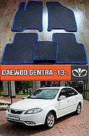 ЕВА коврики Daewoo Gentra 13-. EVA ковры на Део Джентра