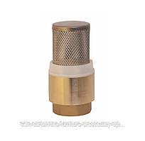 Зворотний клапан 1 1/4 WaterPro (латунний шток з сіткою