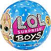 Кукла Лол Сюрприз Серия Мальчик Неон - Neon Guy LOL Surprise Оригинал, фото 3