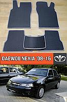 ЕВА коврики Део Нексия 2008-2016. EVA ковры на Daewoo Nexia