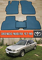 ЕВА коврики Део Нубира 1997-1999. EVA ковры на Daewoo Nubira