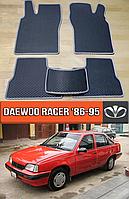 ЕВА коврики Део Рейсер 1986-1995. EVA ковры на Daewoo Racer