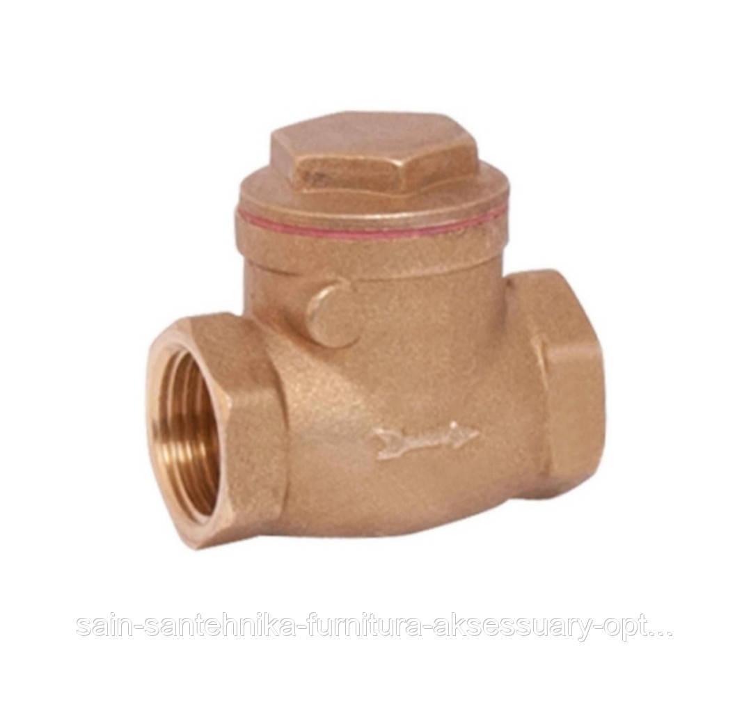 """Клапан 1"""" пелюстковий (низьк.давл.) для води."""
