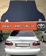 ЕВА коврик в багажник Део Ланос Сенс 1998-н.в. EVA ковер багажника на Daewoo Lanos, Sens