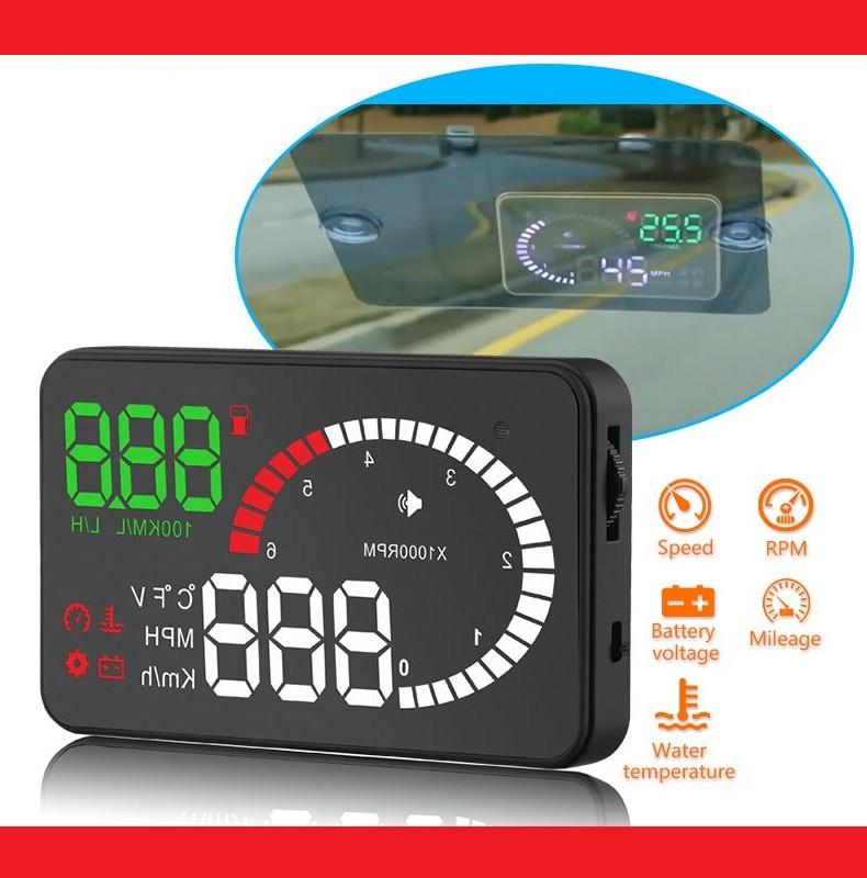 HUD OBD X6 Автомобільний проектор приладовій панелі на лобове скло