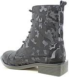 Высокие ботинки женские кожаные от производителя модель РИ11-11, фото 4