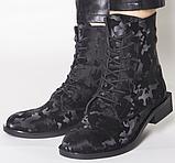 Высокие ботинки женские кожаные от производителя модель РИ11-11, фото 6