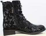 Высокие ботинки женские кожаные от производителя модель РИ11-11, фото 3