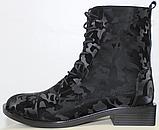 Высокие ботинки женские кожаные от производителя модель РИ11-11, фото 2