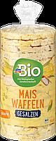 Органические кукурузные хлебцы dm Bio Maiswaffeln, 110 гр