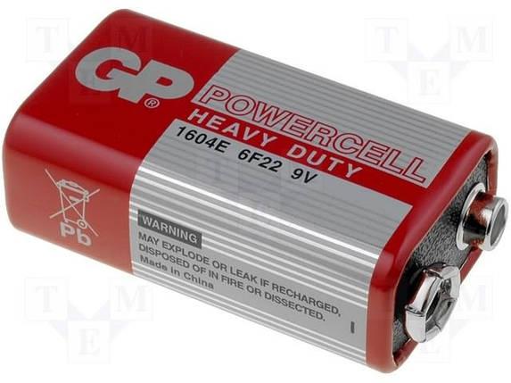 Батарейки GP Крона (красный), фото 2