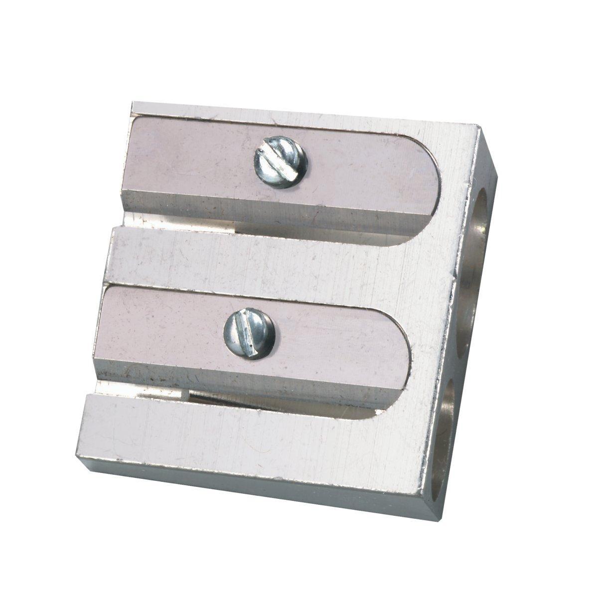 Точилка Herlitz Metal Double метал 2 діаметру без контейнера