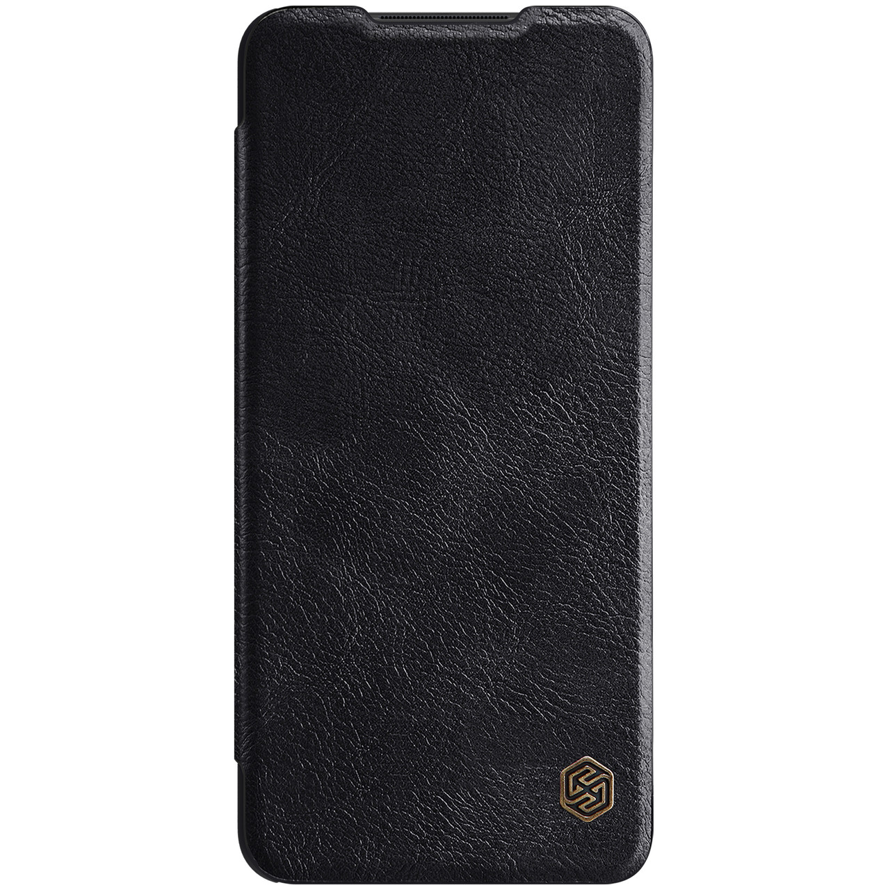 Захисний чохол-книжка Nillkin для Samsung Galaxy A12 (Qin leather case) Black Чорний