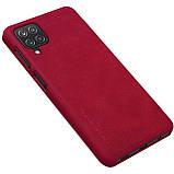 Защитный чехол-книжка Nillkin для Samsung Galaxy A12 (Qin leather case) Red Красный, фото 2