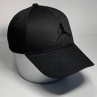 Мужская стильная кепка - бейсболка с регулятором, черный VK 1027