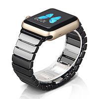 Керамический браслет для Apple Watch 38/40/42/44 мм 1/2/3/4/5/6 series