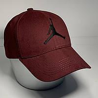 Мужская стильная кепка - бейсболка с регулятором, бордо VK 1028