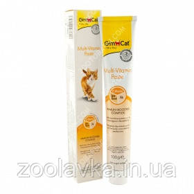 GimCat Multi-Vitamin Paste Мультивитаминная паста 100г, срок до 02,21