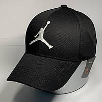 Мужская стильная кепка - бейсболка с регулятором, черный VK 1035
